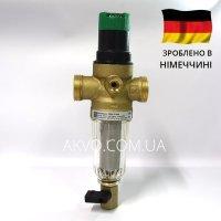 Resideo Braukmann (Honeywell) FK06-3/4AA cітчастий промивний фільтр з редуктором