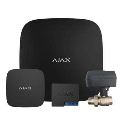 Ajax Комплект контроля протечки воды 1 кран 1 датчик ДУ20- Фото№1