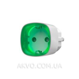Ajax Socket Радиоуправляемая розетка со счетчиком энергопотребления белая - Фото№2