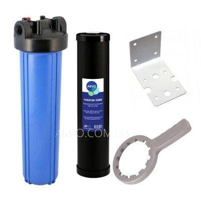 AKVO Фильтр Big Blue 20 с обезжелезивающим картриджем- Фото№1