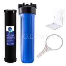 Магистральный фильтр AKVO Big Blue 20 с картриджем снижения солесодержания