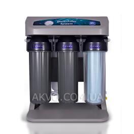 Aquafilter RO ELITE 7G-GP Система обратного осмоса с манометром и помпой в сером корпусе  - Фото№4
