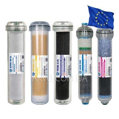 Aquafilter EXCITO-CL-CRT набор из 5-ти картриджей- Фото№1