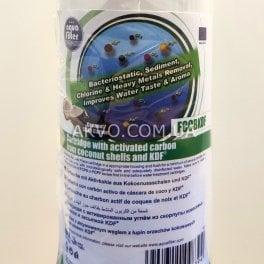Картридж угольный с загрузкой KDF Aquafilter FCCBKDF - Фото№7