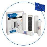 Комплект картриджей Aquafilter (большой сервис) к фильтру обратного осмоса