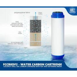 Aquafilter FCCBKDF2 Трехступенчатый картридж комплексного действия - Фото№7