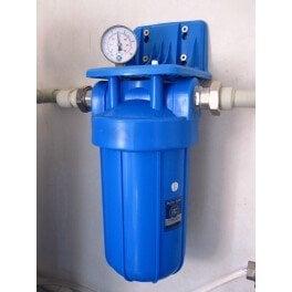 """BigBlue 10"""" Aquafilter FH10B1-B-WB магистральный фильтр-комплект (новый дизайн) - Фото№4"""