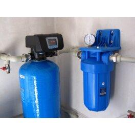"""BigBlue 10"""" Aquafilter FH10B1-B-WB магистральный фильтр-комплект (новый дизайн) - Фото№3"""