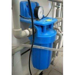 """BigBlue 10"""" Aquafilter FH10B1-B-WB магистральный фильтр-комплект (новый дизайн) - Фото№8"""