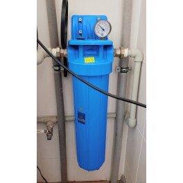 """BigBlue 20"""" Aquafilter FH20B1-B-WB магистральный фильтр-комплек - Фото№9"""