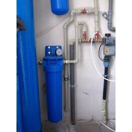 """BigBlue 20 """"Aquafilter FH20B1-B-WB магістральний фільтр-комплект - Фото№3"""
