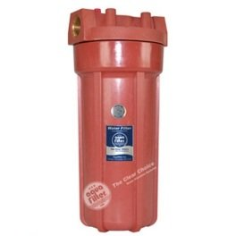 """Натрубный корпус FHHOT 10"""" Aquafilter для горячей воды - Фото№4"""