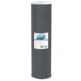 """Картридж Aquafilter FCCBL20BB-из спеченного угля, размер 20"""" BigBlue  - Фото№5"""