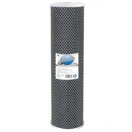 """Картридж Aquafilter FCCBL20BB-из спеченного угля, размер 20"""" BigBlue  - Фото№3"""