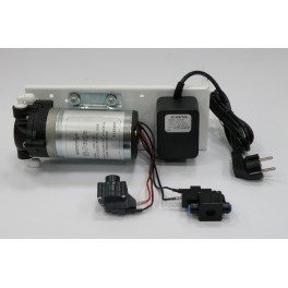 Фильтр обратный осмос Aqualine RO-6 P MT18 с насосом - Фото№6