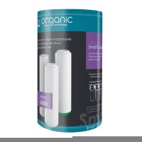 Комплект сменных картриджей Organic Smart Leader для проточных фильтров