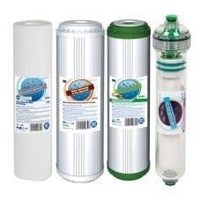 Комплект картриджей с мембраной Aquafilter FP3-HJ-K1