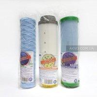 Комплект картриджей Aquafilter против хлора и накипи