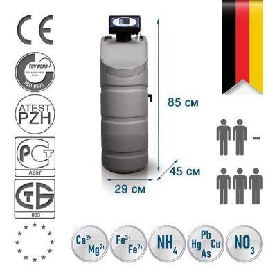 Компактный фильтр обезжелезивания и умягчения воды Bluefilters Apollo M Multi- Фото№1