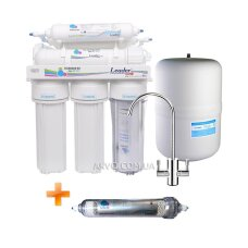 Leader Standart RO-7 HD20 Antioxidant Фільтр зворотного осмосу