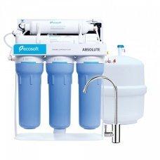 Ecosoft Absolute MO550PSECO с помпой на станине фильтр обратного осмоса