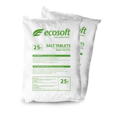 Ecosoft ECOSIL Сіль таблетована 25 кг- Фото№1