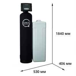IONIX 1665 Фильтр умягчитель, очистка воды от нитратов, нитритов, аммония - Фото№2