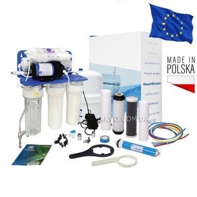 Aquafilter FRO5JGMP / RP65139715 Фильтр обратного осмоса с насосом и минерализатором- Фото№1