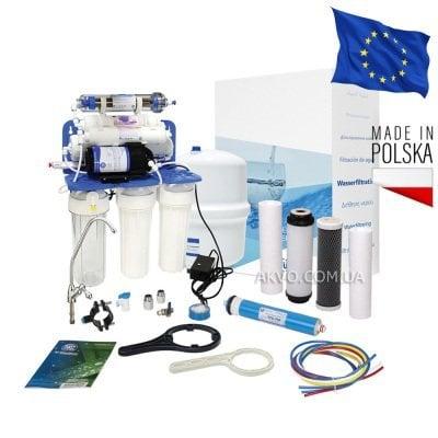 Aquafilter FRO8JGMP / RP75139715 Фильтр обратного осмоса с насосом, минерализатром и ионизатором- Фото№1