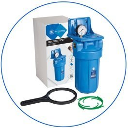 """BigBlue 10"""" Aquafilter FH10B1-B-WB магистральный фильтр-комплект (новый дизайн) - Фото№2"""