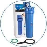 """BigBlue 20"""" Aquafilter FH20B1-B-WB магистральный фильтр-комплект"""