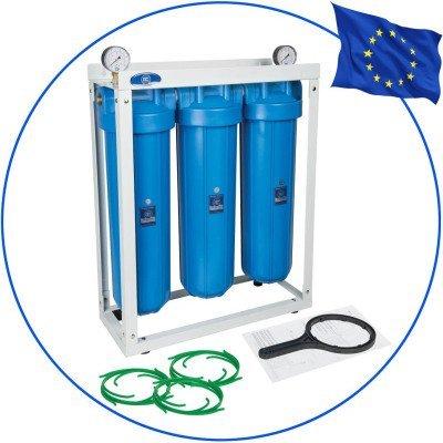 Aquafilter HHBB20B Big Blue 3 фильтра на станине- Фото№1