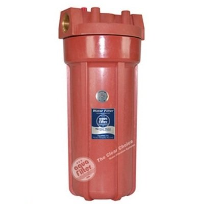 """Натрубный корпус FHHOT 10"""" Aquafilter для горячей воды- Фото№1"""