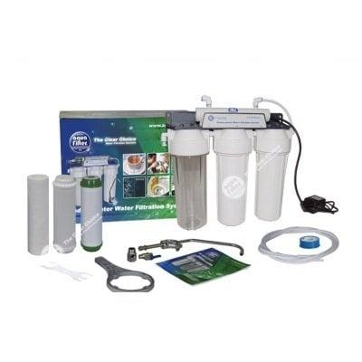 Фильтр Aquafilter FP3-PLUS с ультрафиолетовой лампой- Фото№1