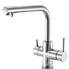 FXFCH13-4-C Aquafilter Кран (смеситель)- для кухни четырехпозиционный