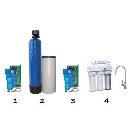 """Готовое решение система умягчения воды для коттеджа - """"Стандарт"""" - Фото№2"""