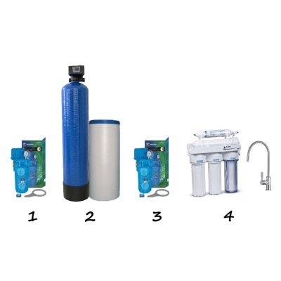 """Готовое решение система умягчения воды для коттеджа - """"Стандарт""""- Фото№1"""