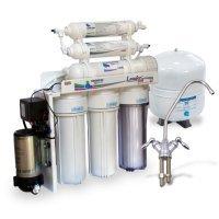 Обратный осмос Leader Filter Standart RO-6 PMT18- с минерализатором и помпой