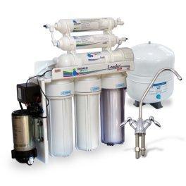 Обратный осмос Leader Filter Standart RO-6 PMT18- с минерализатором и помпой - Фото№2
