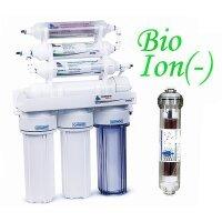 Обратный осмос Leader  RO8 BIO ION(-) - с минерализатором, биокерамикой и ионизатором