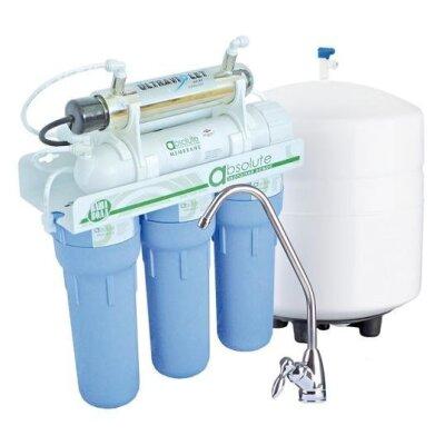 Фильтр обратный осмос Наша Вода  ABSOLUTE MO 6-50 UV - с ультрафиолетовой лампой и минерализатором (новый дизайн)- Фото№1