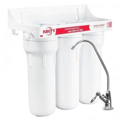 Filter 1 FHV-300 Тройная система очистки воды (дизайн 2015 года)- Фото№1