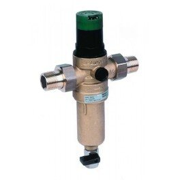 HONEYWELL Mini Plus FK06 1/2AAМ сетчатый самопромывной фильтр механической очистки с редуктором для горячей воды - Фото№2