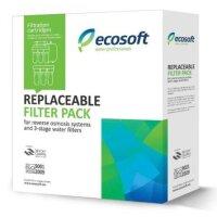 Комплект картриджей 1-2-3 для обратного осмоса P`ure Ecosoft