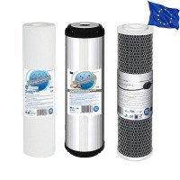 Усиленный комплект картриджей Aquafilter для системы обратного осмоса