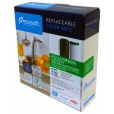 Комплект картриджей Ecosoft AQUAGREEN 1-2-3 для фильтров обратного осмоса