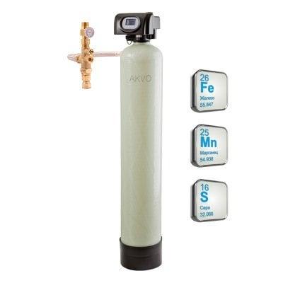 Система знезалізнення води з видаленням марганцю і сірководню OXI-GEN 1252- Фото№1
