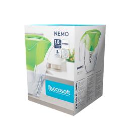 Фільтр-глечик Ecosoft NEMO (Наша Вода) зелений - Фото№3
