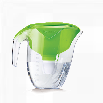 Фільтр-глечик Ecosoft NEMO (Наша Вода) зелений- Фото№1