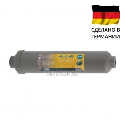 AC-IL-GAC Bluefilters Линейный картридж с активированным углем- Фото№1